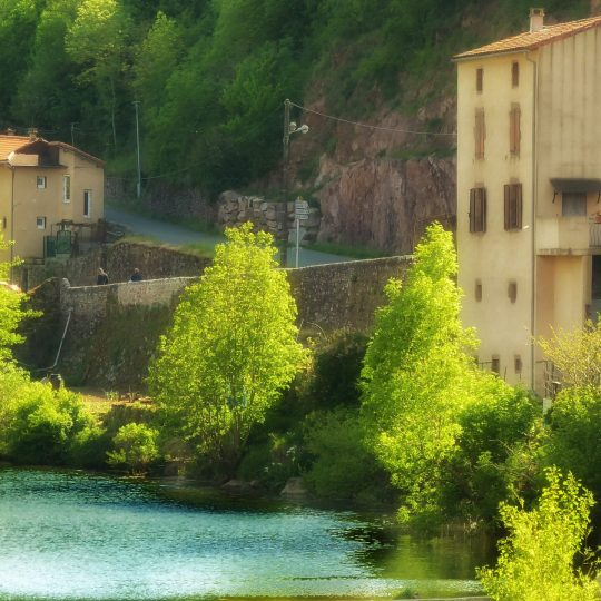 A tranquil setting in rural France