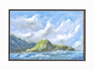 Island Lost painting