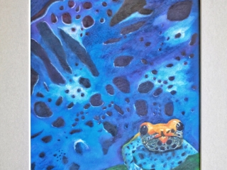 Poison Frog painting