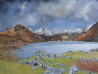Wastwater towards Great Gable