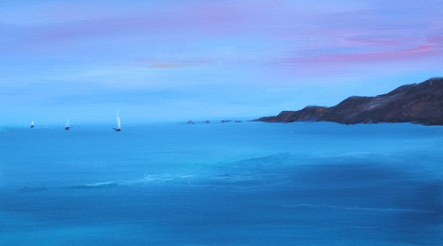 Seascape acrylic on canvas