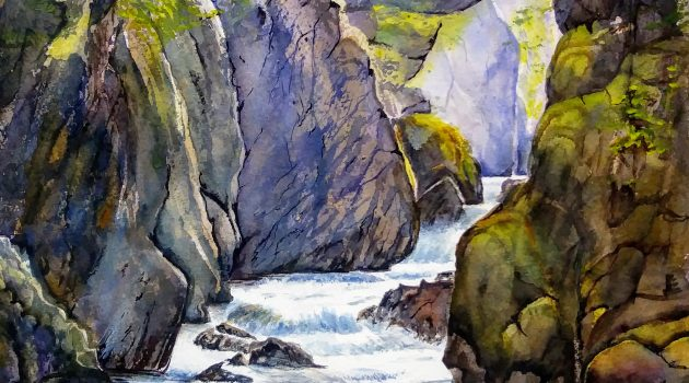 Fairy Glen, Snowdonia by Gill Michael