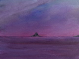 St Michael's Mount - Acrylic on Canvas Board